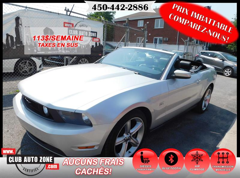 Ford Mustang 2010 GT CONVERTIBLE MANUELLE #A5142078