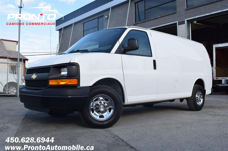 2013 Chevrolet Express Cargo Van 2500 ** 4.8L ** Gr. Électrique ** Full Rack ** #1914