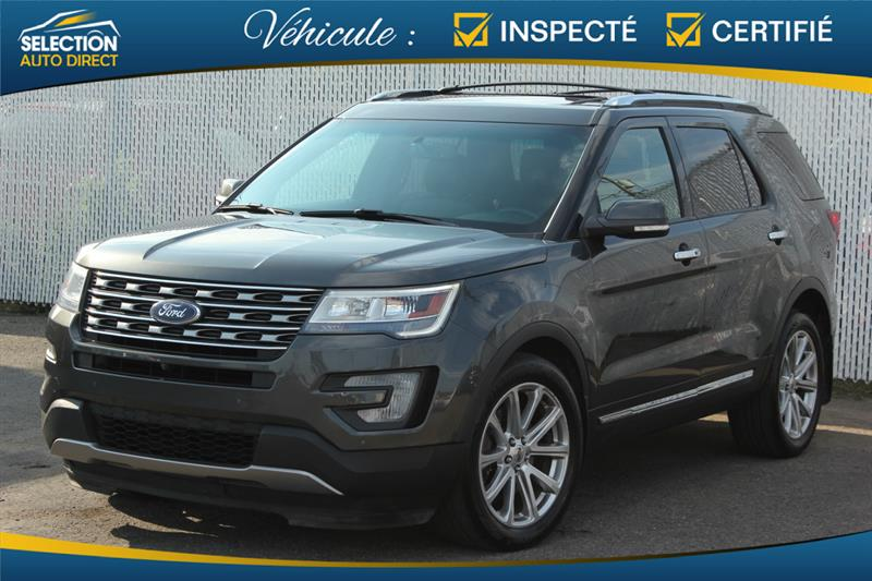 Ford Explorer 2017 Limited AWD #JA38541