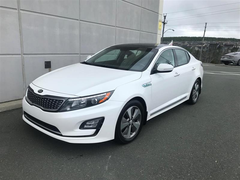 2014 Kia Optima Hybrid EX #M19300