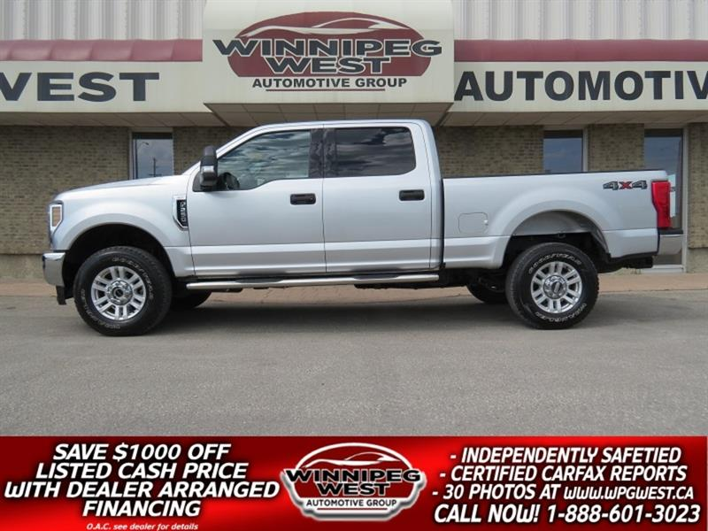 2018 Ford F-250 CREW CAB 4X4, IMPROVED 6.2L V-8, CLEAN MB TRUCK! #GW5139