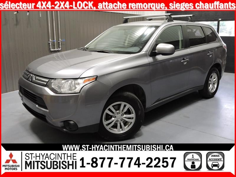Mitsubishi Outlander 2014 ES 4X4 HITCH #18352B
