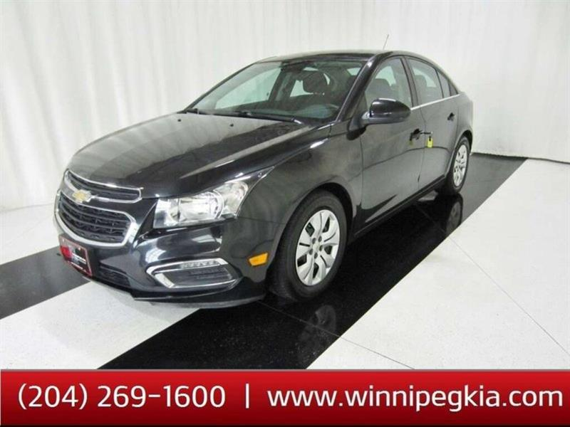 2015 Chevrolet Cruze 1LT *Accident Free & Always Owned In MB!* #19SP188A