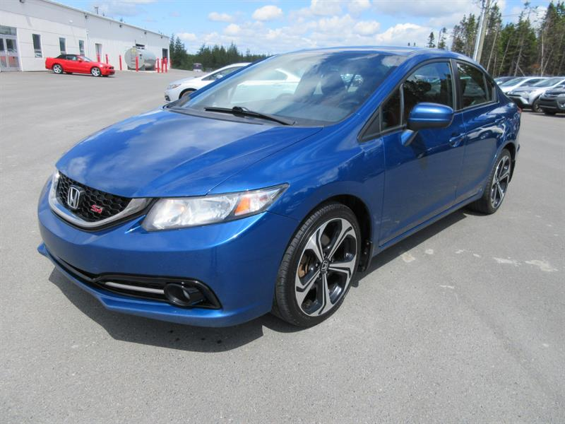2015 Honda Civic Sedan 4dr Man Si #H19100B
