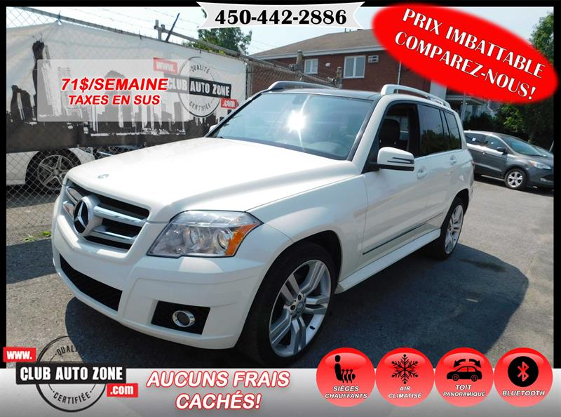 Mercedes-Benz GLK-Class 2010 GLK 350 4MATIC TOIT PANORAMIQUE BLUETOOTH #AF488979