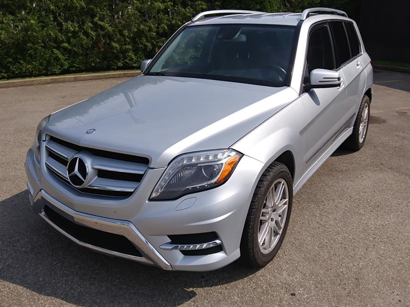 Mercedes-Benz GLK-Class 2013 GLK 350 4MATIC *LED - CUIR - BAS Mileage* #576