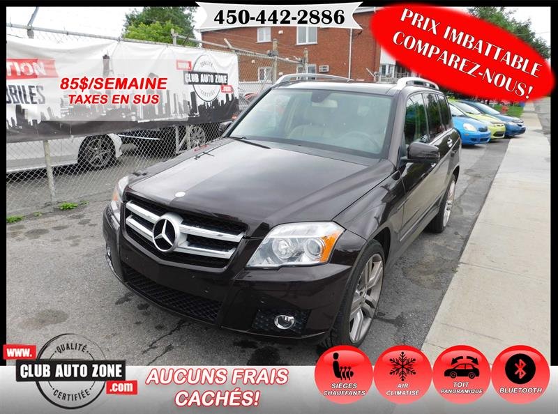 Mercedes-Benz GLK-Class 2011 GLK 350 4MATIC TOIT PANORAMIQUE BLUETOOTH #BF600615