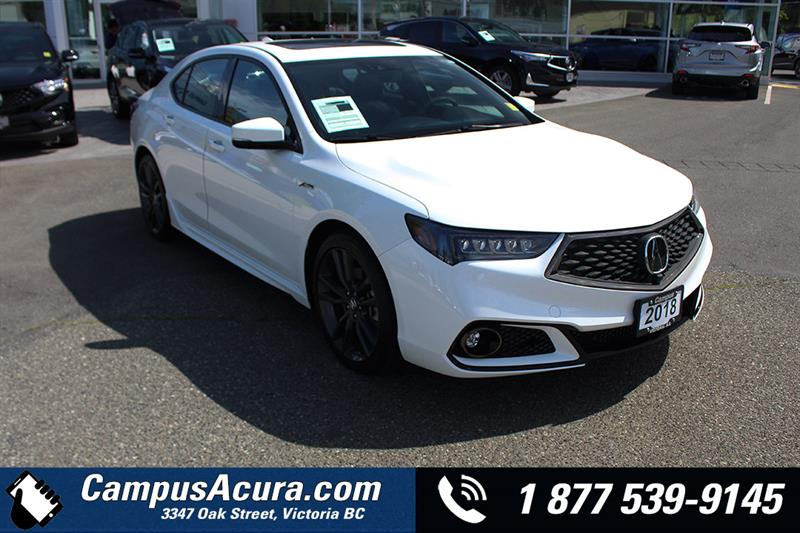 2018 Acura TLX SH-AWD Elite A-Spec Sedan #AC1019