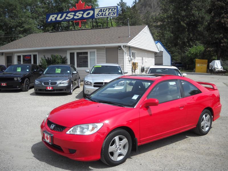 2005 Honda Civic Cpe SI-G, AUTO  #N/A