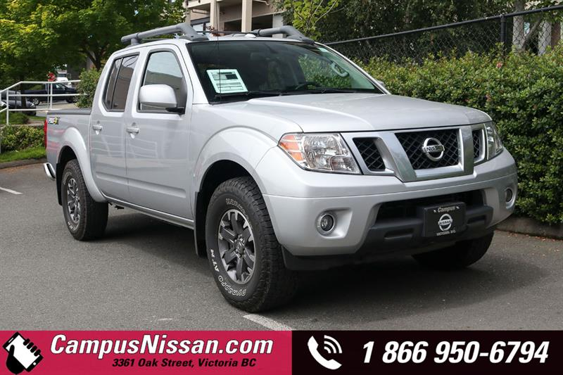 2016 Nissan Frontier PRO-4X 4WD w/ Leather Package #A7470