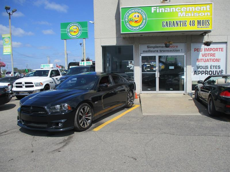 Dodge Charger 2012 4dr Sdn SRT8 RWD #19-146