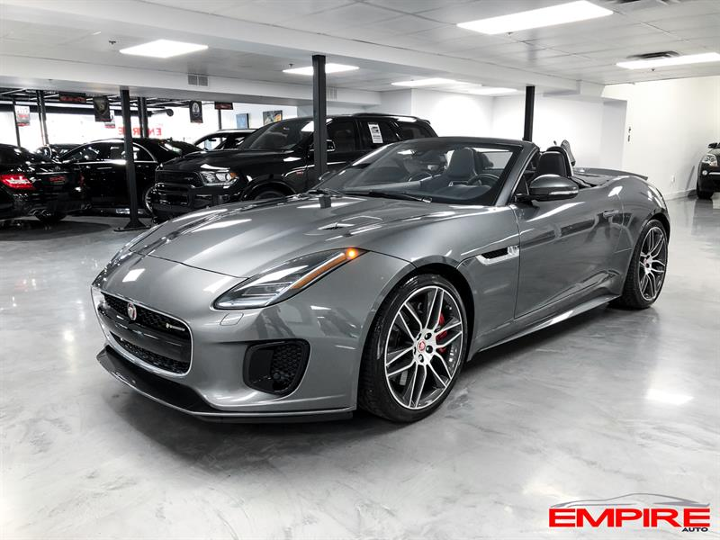 Jaguar F-TYPE 2018 R-Dynamic Auto AWD #SN488