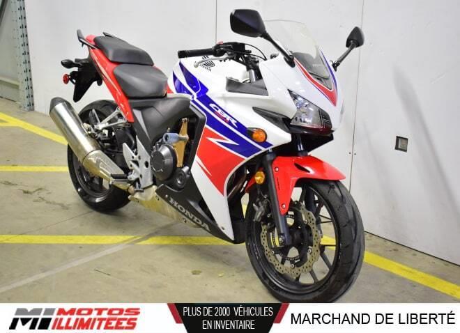 Honda CBR500R 2014