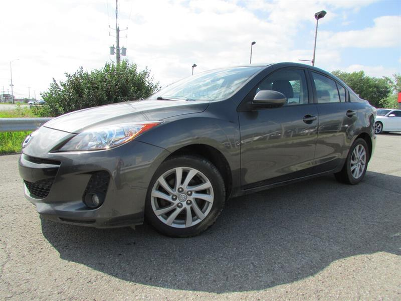 Mazda Mazda3 2012 GS LUXE CUIR TOIT OUVRANT!!! #4316