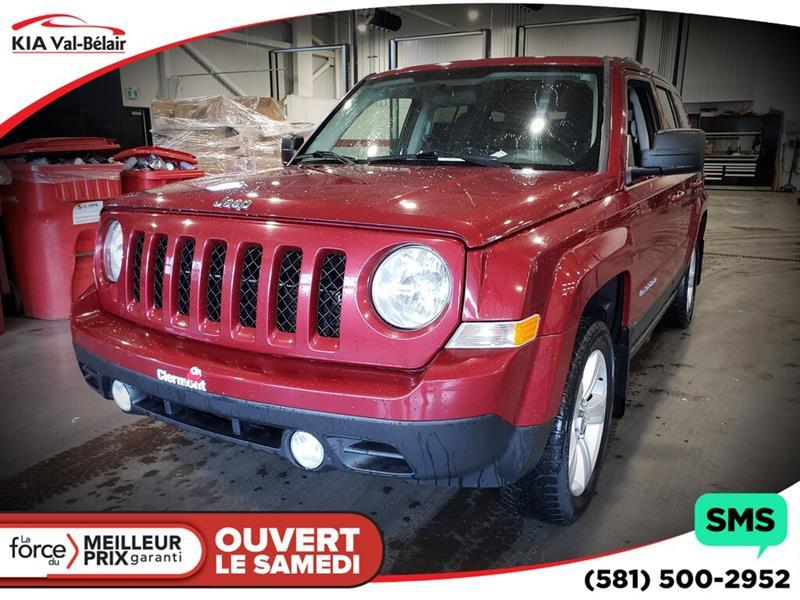 Jeep Patriot 2012 *NORTH*4X4*AIR*PHARES ANTI-BROUILLARDS* #V190201A