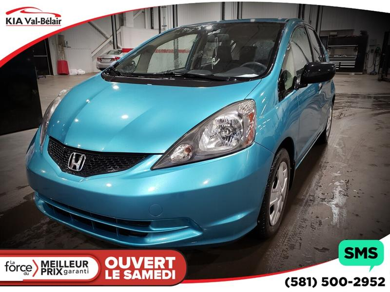 Honda Fit 2013 *DX-A*LECTEUR CD* AIR* #VU488A