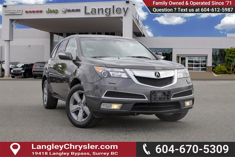 2011 Acura MDX Technology Package #K758545A