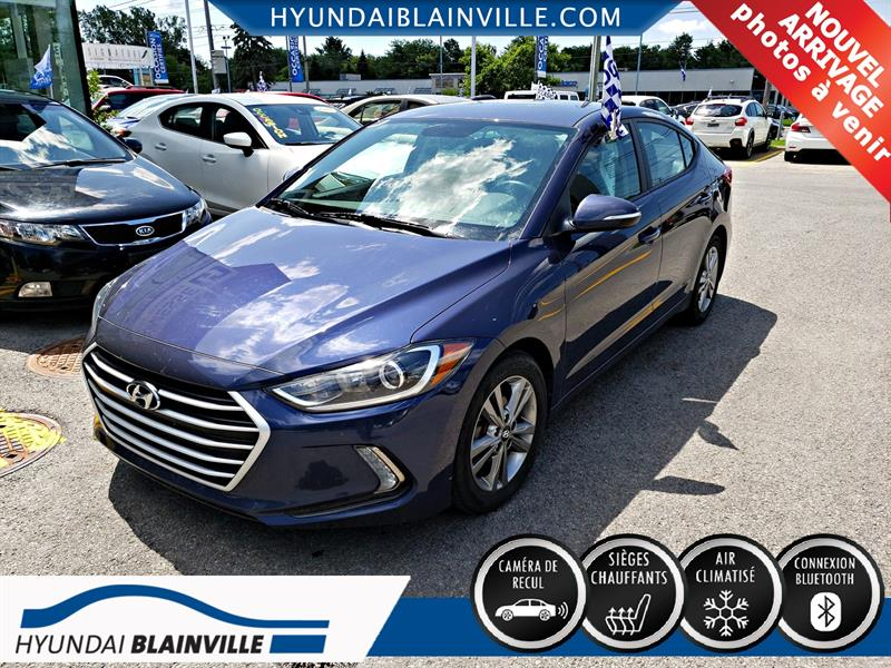 Hyundai Elantra 2017 GL, APPLE CARPLAY , ANDROID AUTO  #A-2886