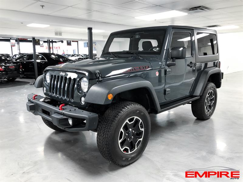 2017 Jeep Wrangler RUBICON Hard Rock *Ltd Avail* #A7160