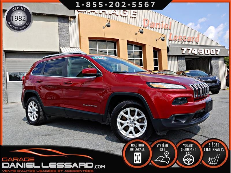 Jeep Cherokee 2016 NORTH, 4X4, 6 CYL, CAM RECUL, GR ELEC, GPS, A VOIR #69164