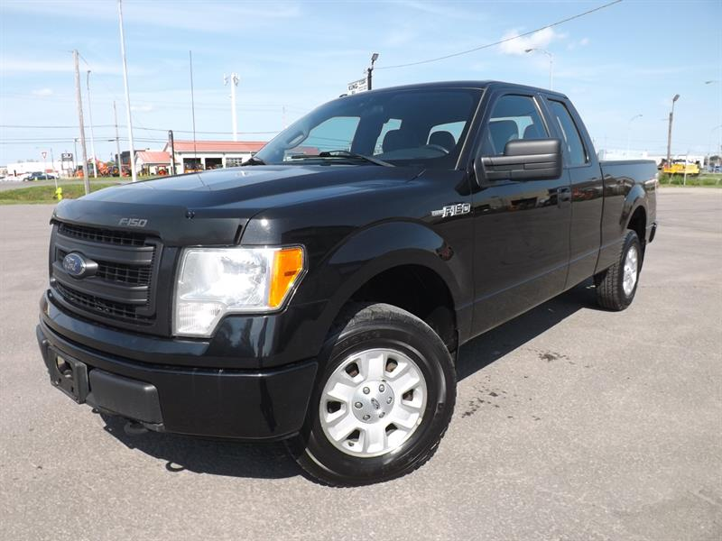 2013 Ford F-150 4WD SuperCab STX #1008581