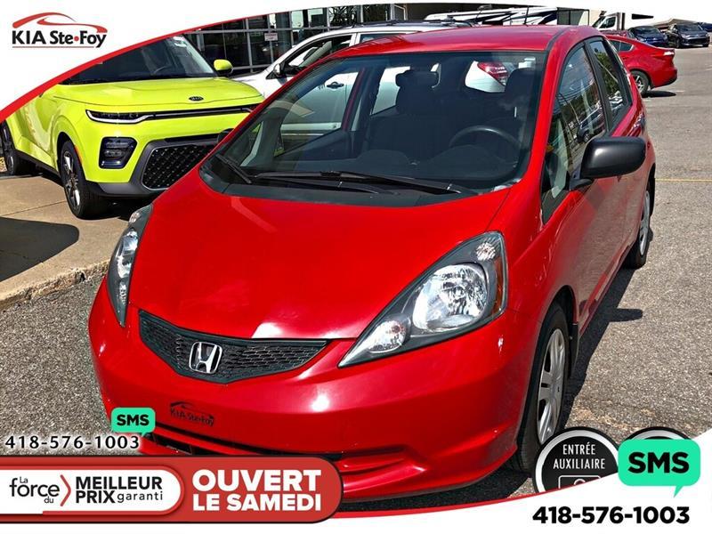 Honda Fit 2011 DX-A *INSPECTÉ ET GARANTI *AUX *A/C #190398A