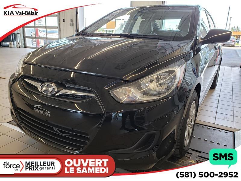 Hyundai Accent 2012 *GL*CECI EST UNE HYUNDAI ACCENT GL 2013* #V190220AD