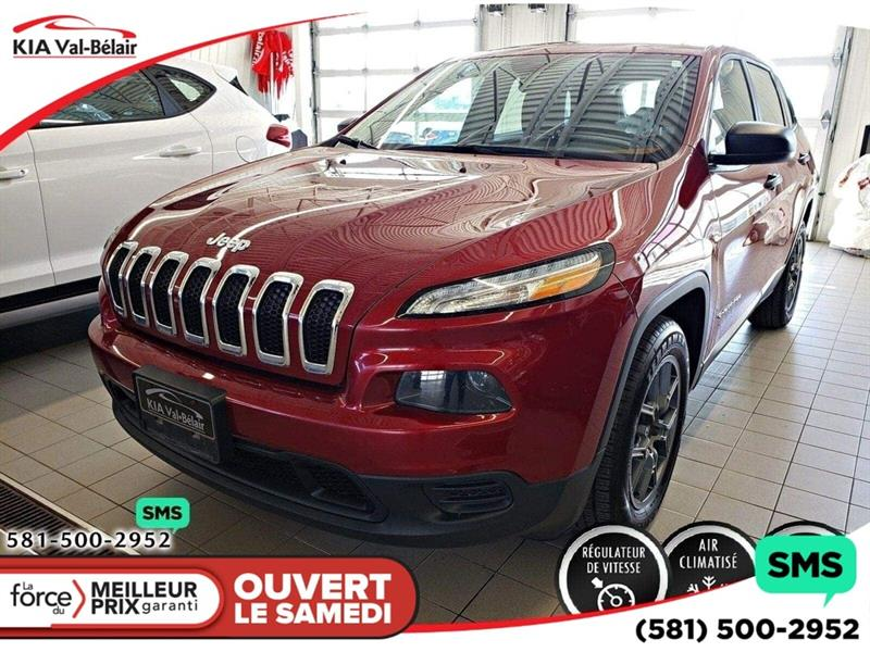 Jeep Cherokee 2016 *SPORT* BLUETOOTH* CRUISE*AIR* #V190065A