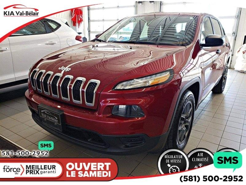 Jeep Cherokee 2015 *SPORT*CECI EST UN JEEP CHEROKEE 2016* #V190065AD