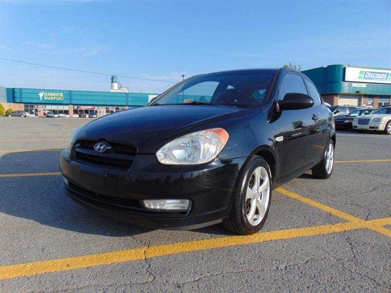 Hyundai Accent 2008 Hayon 3 portes, boîte manuelle, GL