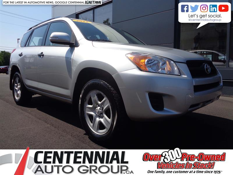 2011 Toyota RAV4 AWD | A/C | GREAT SHAPE! LOW KMs! #19-197A