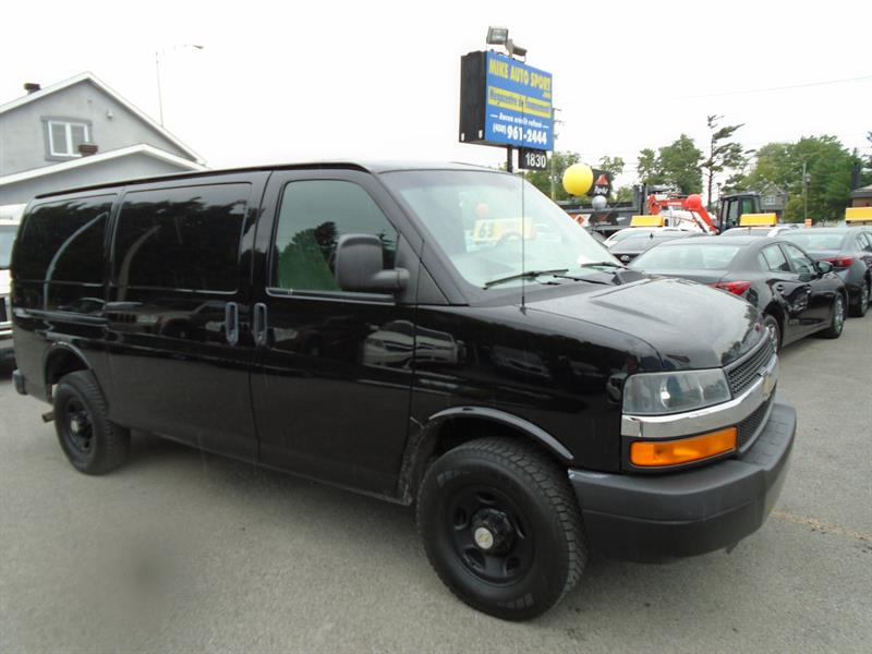2012 Chevrolet Express Cargo Van RWD 2500 135