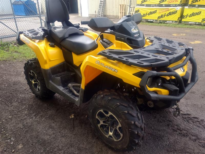 Can-am Outlander MAX 650 XT 2013