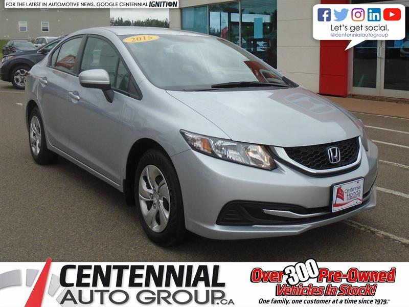 2015 Honda Civic Sedan LX | Heated Seats | Bluetooth |  #10013A
