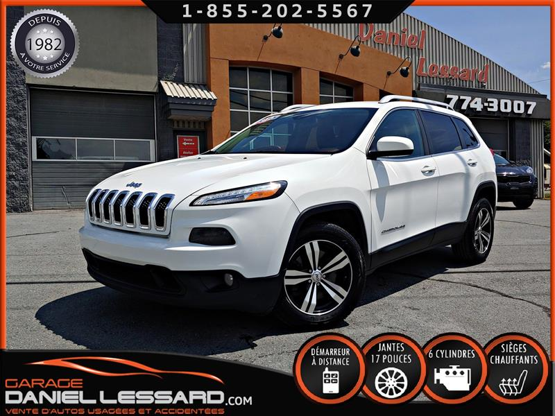 Jeep Cherokee 2015 NORTH, 2X4, AUTO, 6 CYL, 3,2L  GR ÉLECTRIQUE, SIÈG #59431