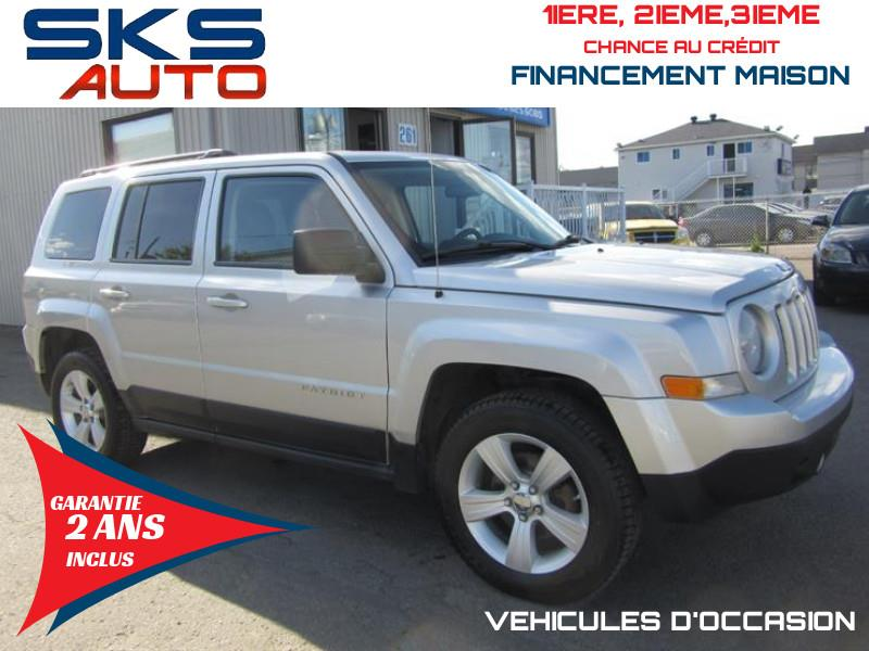 Jeep Patriot 2012 4WD (GARANTIE 2 ANS INCLUS) FINANCEMENT MAISON #SKS-4409--1