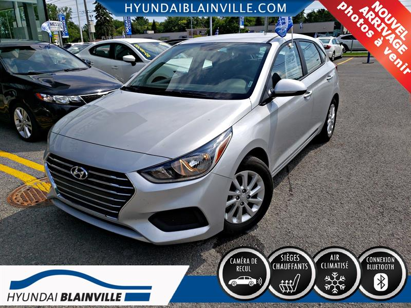 Hyundai Accent 2019  Preferred , A/C , BLUETOOTH , CAMERA RECUL #E-0344