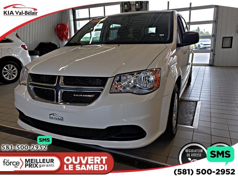 Dodge Grand Caravan 2012 *SE* AIR*LECTEUR CD*CRUISE* #VU605A