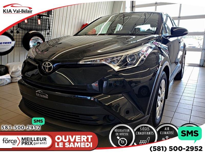 Toyota C-HR 2019 *XLE*CAMÉRA*AIR*CRUISE*BLUETOOTH* #VU618