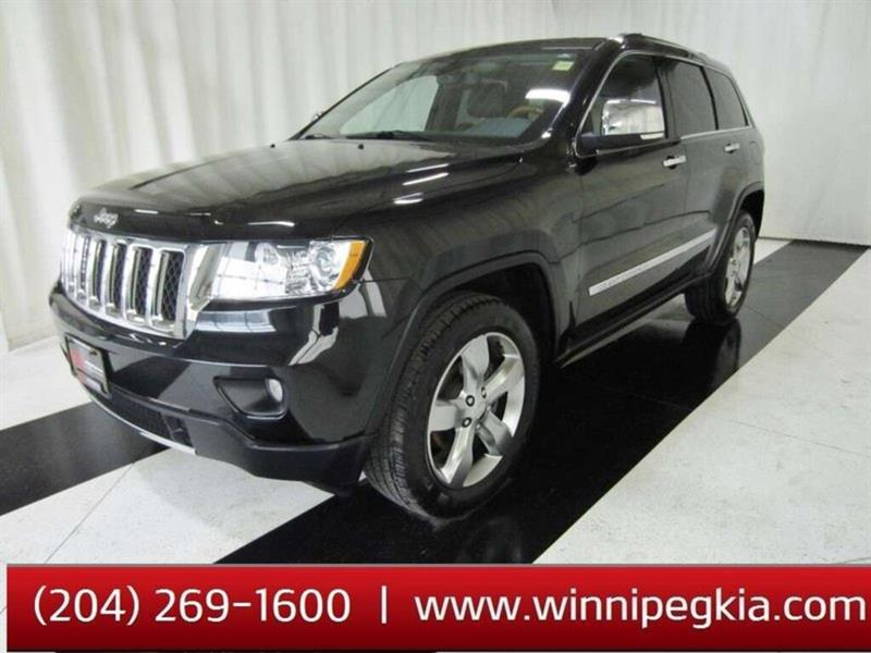 2011 Jeep Grand Cherokee Overland #19SR306A
