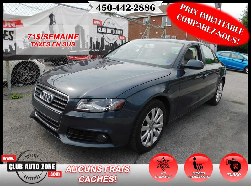 Audi A4 2010 QUATTRO 2L TURBO  #AN049960
