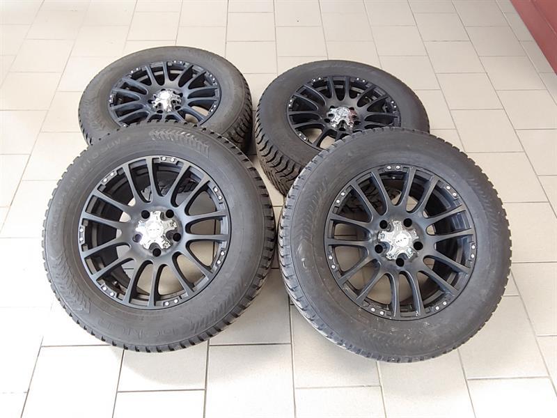 Dodge Durango 2007 KIT MAG 18 RTX ET PNEUS NOKIAN #KIT CHRYSLER ASPEN N