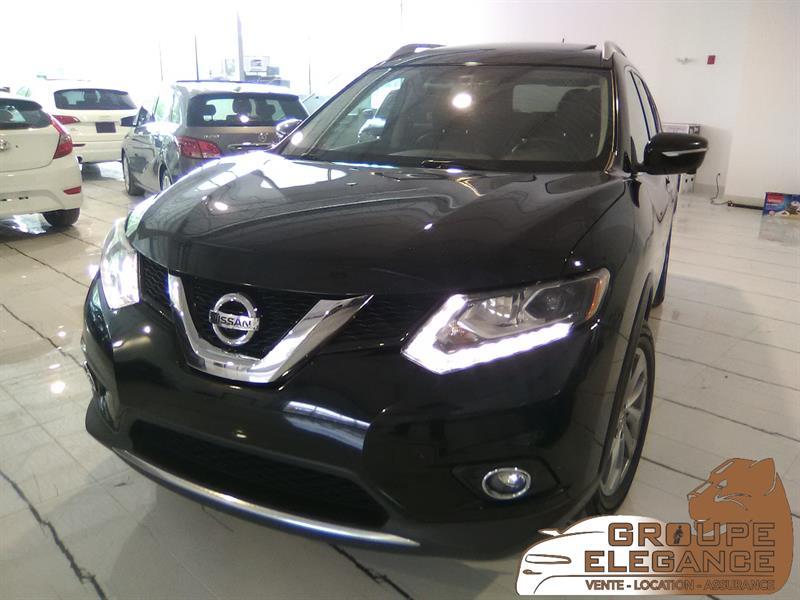 2015 Nissan Rogue SL / AWD/ NAVIGATION/ 4dr