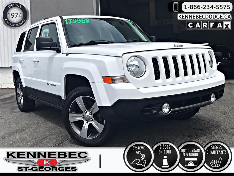 Jeep Patriot 2016 4WD 4dr High Altitude #39120a