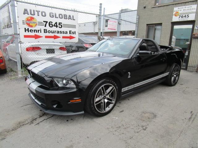 Ford Mustang 2010 Convertible Shelby GT500 Manuelle 6 Vitesses #1999998