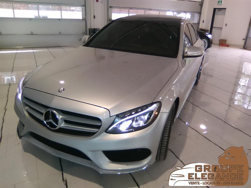 2015 Mercedes-Benz C-Class 4dr Sdn C 300 4MATIC