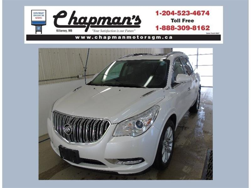 2017 Buick Enclave Premium AWD, Leather Sunroof, Bose Stereo #19-124A