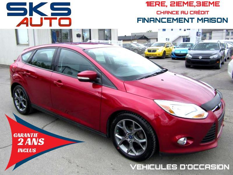 Ford Focus 2013 SE (GARANTIE 2 ANS INCLUS) FINANCEMENT MAISON #SKS-4404-3