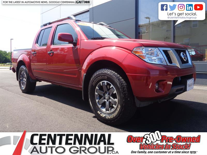 2019 Nissan Frontier PRO-4X | Crew Cab | Leather | NAV | Moonroof | A/C #P19-131