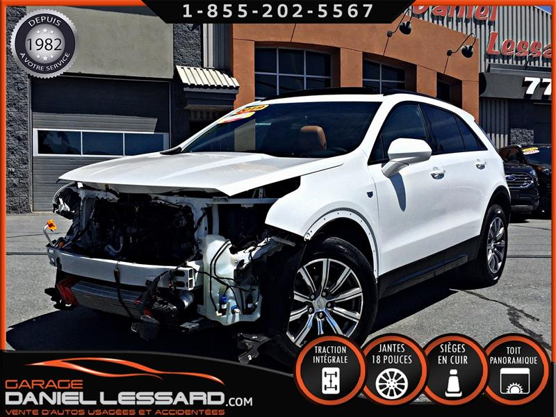 2019 Cadillac XT4 AWD SPORT, 2.0T, TOIT PANO, CUIR CARAMEL #99412
